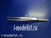 0014 MACHETE round-lipped tweezers for modeling