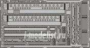 36063 Eduard 1/35 Фототравление для M-1127 Mounted rack and belts