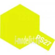 86027 Tamiya Краска-спрей PS-27-краска-спрей флюорисцентная желтая
