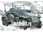 72421 ICM 1/72 Sd.Kfz.223- германский бронеавтомобиль радиосвязи