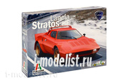 3654 Italeri 1/24 Автомобиль LANCIA STRATOS HF