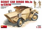 35087 MiniArt 1/35 Reconnaissance Armored Car Dingo Mk.1a with Crew