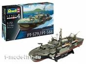05165 Revell 1/72 Патрульная Торпедная лодка PT-579 / PT-588