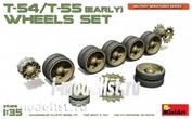 37056 MiniArt 1/35 t-54/T-55 early tank Rollers