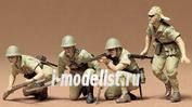 35090 Tamiya 1/35 Японские пехотинцы 3 фигуры