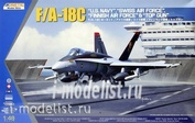 K48031 Kinetic 1/48 F/A-18C US Navy, Swiss AirForce, Finnish