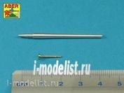 35 L-226 Aber 1/35 Металлический ствол для Early barrel for Valentine Mk.II to VII or Matilda Mk.III/IV