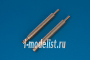 32AB07 RB model 1/32 Metal barrels Barrel endings for 20mm automat cannon MG FF & MG FF/M Those cannons was used in many german aircrafts