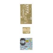 048016 Микродизайн 1/48 Набор фототравления на ЛаГГ-3 цвет (ICM)