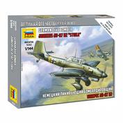 6123 Звезда 1/144 Немецкий пикирующий бомбардировщик Ju-87 (для игры