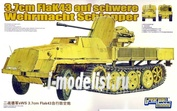 L3516 Great Wall Hobby 1/35 Германская зенитная самоходная артустановка (ЗСУ) 3.7 cm FlaK auf sWS