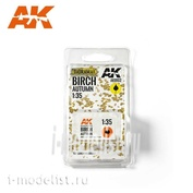 AK8102 AK Interactive 1/35 Осенние листья берёзы