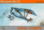 7073 Eduard 1/72 Биплан Nieuport Ni-23 (две модели в одной коробке)