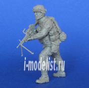 Mcf35191 MasterClub 1/35 Современный Американский солдат с пулеметом М249
