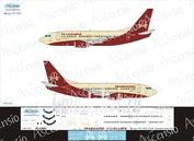 735-013 Ascensio 1/144 Декаль на боенг 737-500 (Transaero(Imperial))