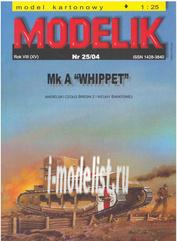 MD25/04 Modelik 1/25 Mk A Whippet