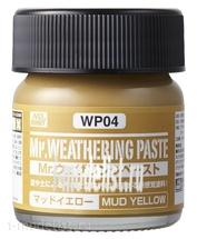 WP04 Gunze Sangyo Mr.Weathering Paste Mud Yellow
