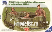 RV35028 Riich 1/35 British Commonwealth Universal Carrier Mk.II crew in winter uniform 1943-1945