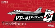 S7202 Lion Roar 1/72 US Navy F-14A VF-41 Black Aces