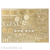 035396 Microdesign 1/35 Photo Etching kit for the BRDM-2/3 (Dragon, Zvezda) assembly model)