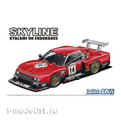 06124 Aoshima 1/24 Сборная модель Nissan Skyline Turbo R30 Gr.5 Kyalami-9H-Endurance 82 SD