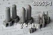 AMC48053-1 Advanced Modeling 1/48 ОФАБ-250ШН осколочно-фугасная авиабомба калибра 250 кг (в комплекте четыре бомбы)