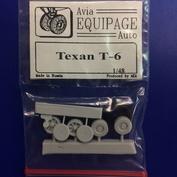 EQB48024 Экипаж 1/48 Резиновые колёса для Texan T-6