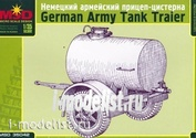 35042 Макет 1/35 Немецкий армейский прицеп-цистерна