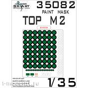 35082 SX-Art 1/35 Set of paint masks for Tor-M2 (Zvezda)