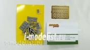 RC309-9 Model Point 1/35 Комплект контейнеров динамической защиты «Контакт-V» для установки на башнюТ-72Б (1988г выпуска) В комплекте 21 блок типа «D» (RC309-4) и 8 V-образных блоков  (RC309-6).