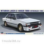 21134 Hasegawa 1/24 Автомобиль Mitsubishi Lancer EX 1800GSR Turbo Intercooler (1983)