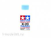 80040 Tamiya X-20 Enamel Thinner (Растворитель для эмали) 250мл.
