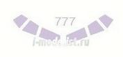 14415 KV Models 1/144 Набор окрасочных масок для остекления модели Boing-777