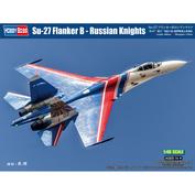 81776 HobbyBoss 1/48 Суххой-27 Flanker B - Russian Knights
