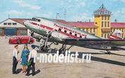 309 Roden 1/144 Пассажирский самолет Douglas DC-3