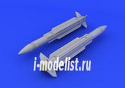 672048 Eduard 1/72 Дополнение к модели AGM-78 Standard ARM