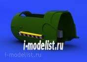 648153 Eduard 1/48 Набор дополнений Bf 109G exhaust stacks