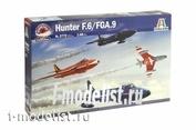 2772 AIRCRAFT Italeri 1/48 HUNTER F. 6/FGA.9 (Aerobatic Teams)
