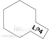 82104 Tamiya LP-4 Flat White (Белая матовая) Лаковая краска 10мл.