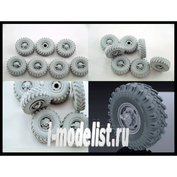B35049 Miniarm 1/35 Set of wheels OI-25