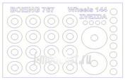 14713 KV Models 1/144 Маски на диски и колеса Boing 767