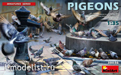 38036 MiniArt 1/35 Pigeons