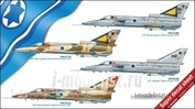 2688 Italeri 1/48 Самолет Kfir C1/C2