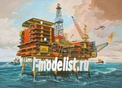 08803 Revell 1/200 Off-Shore Oilrig North Cormorant