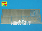 35 A122 Aber 1/35 Фототравление Clasps for Russian modern Tanks like T-64;T-72;T-80;T-90