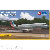 BPK14408 BPK 1/144 Самолет Bombardier CRJ-700 American Eagle