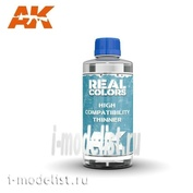 RC702 AK Interactive Solvent High Compatibility Thinner 400ml