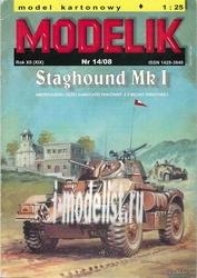 MD14/08 Modelik 1/25 Staghound MR I