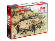 35342 ICM 1/35 Бергепантера с немецким танковым экипажем (4 фигуры)