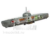 05078 Revell 1/144 Deutsches U-Boot Typ XXI с интерьером